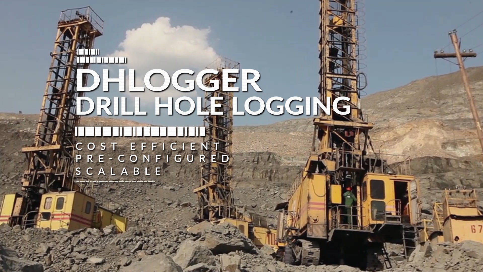 Video screenshot for DHLogger - drillhole management tool