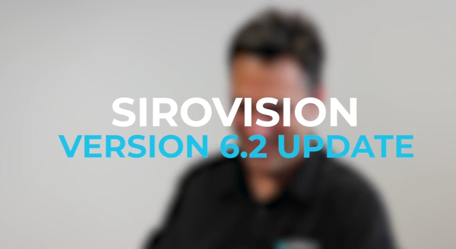Title screen of the interview video with Sirovision Product Manager, Ian Anderson, explaining the new features in Sirovision 6.2 - geological mapping software