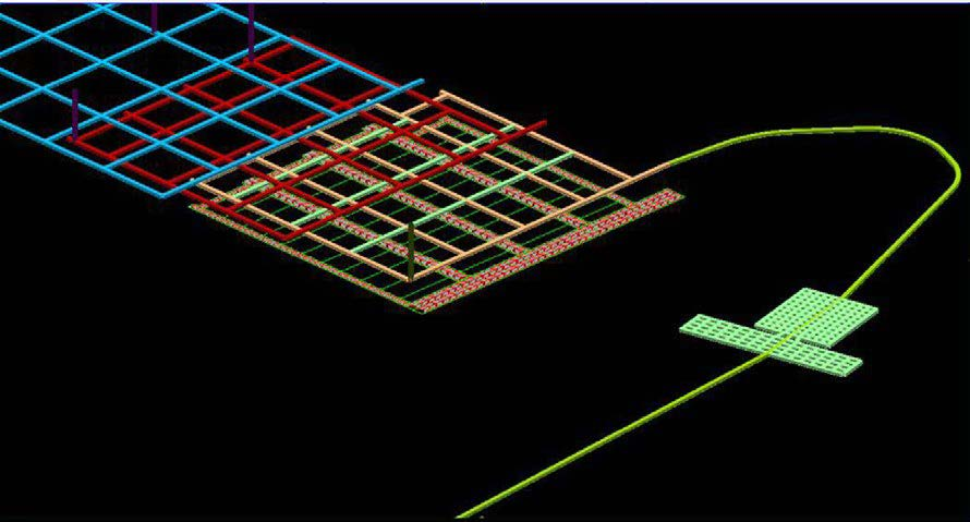 Underground workings design in MineScape - Geological Modelling & Mine Planning Software