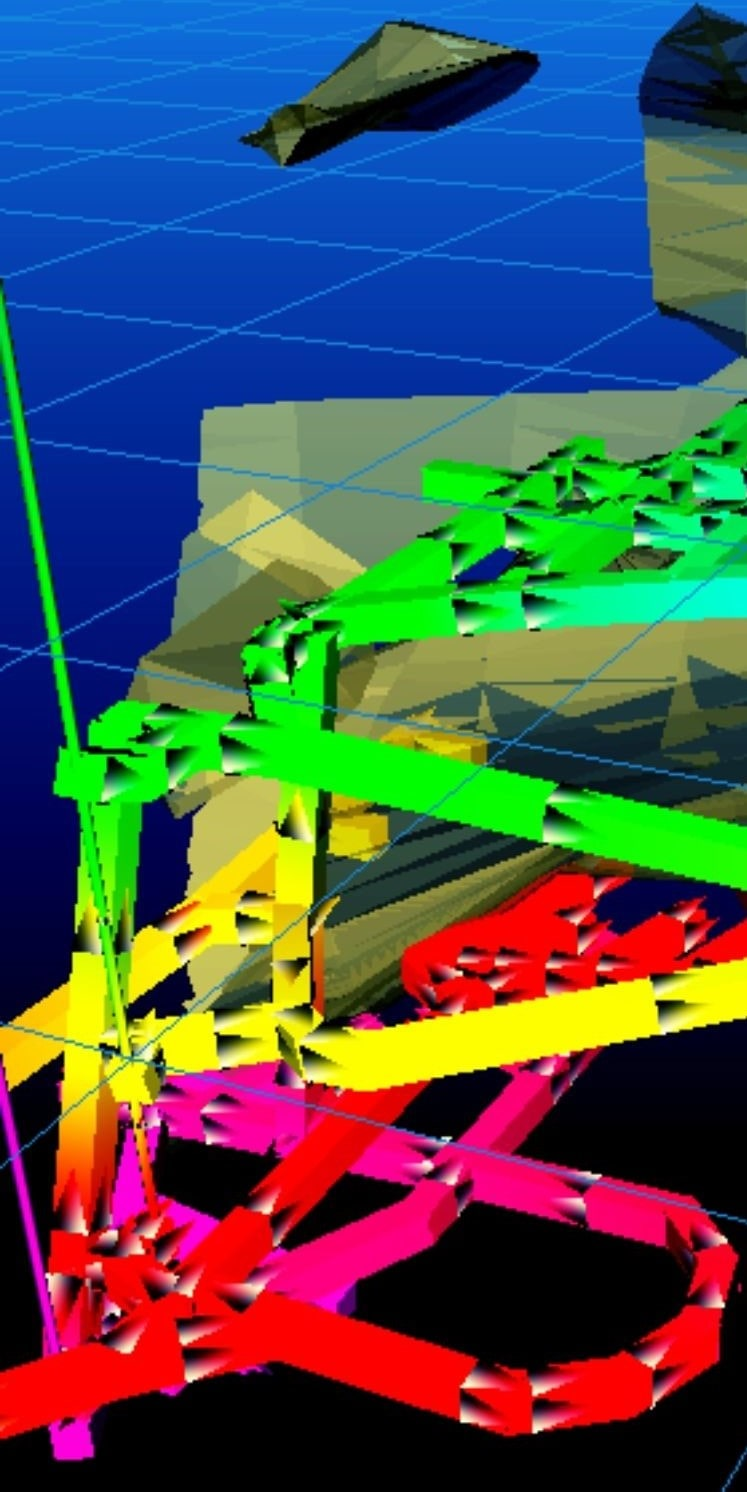 Flow Simulation in VentSim Visual - Ventilation Modelling software
