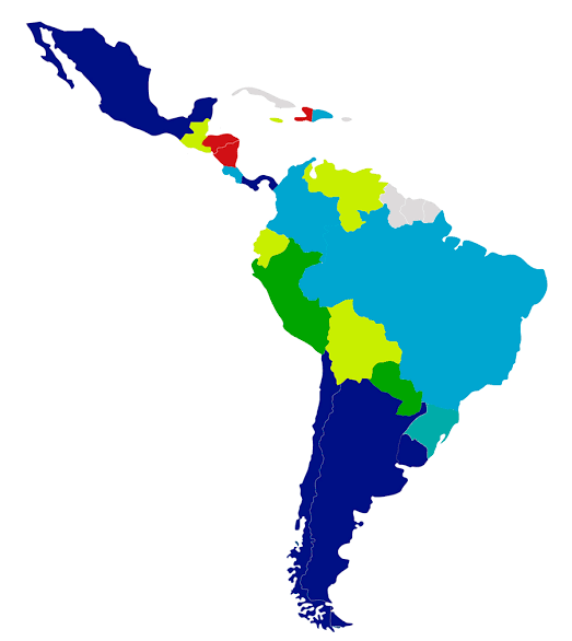 South America Icon
